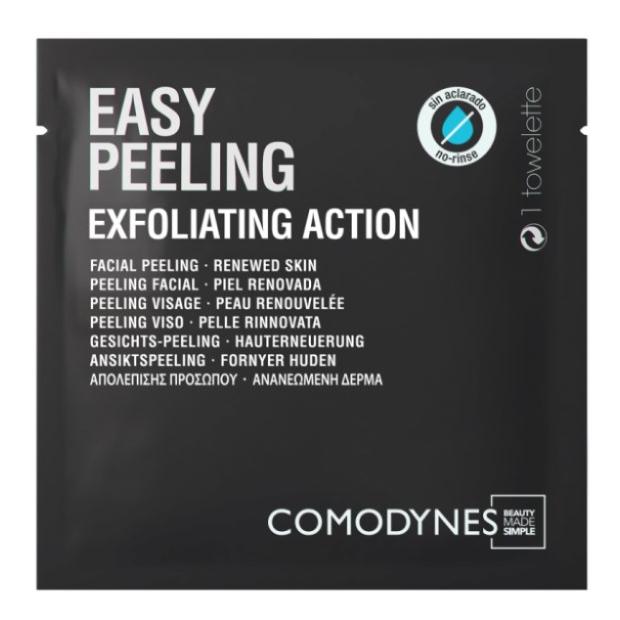 Easy peeling web